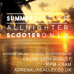 Summer Scooter ONLY All-nighter