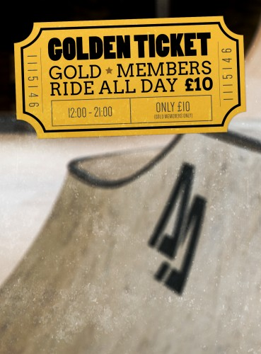 Golden ticket day