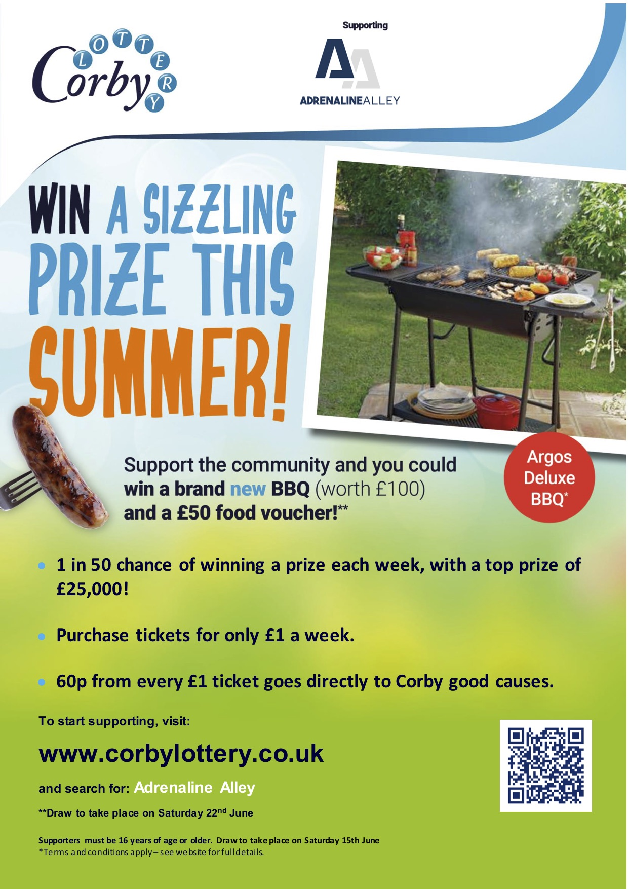 Win a BBQ and a £50 food voucher!