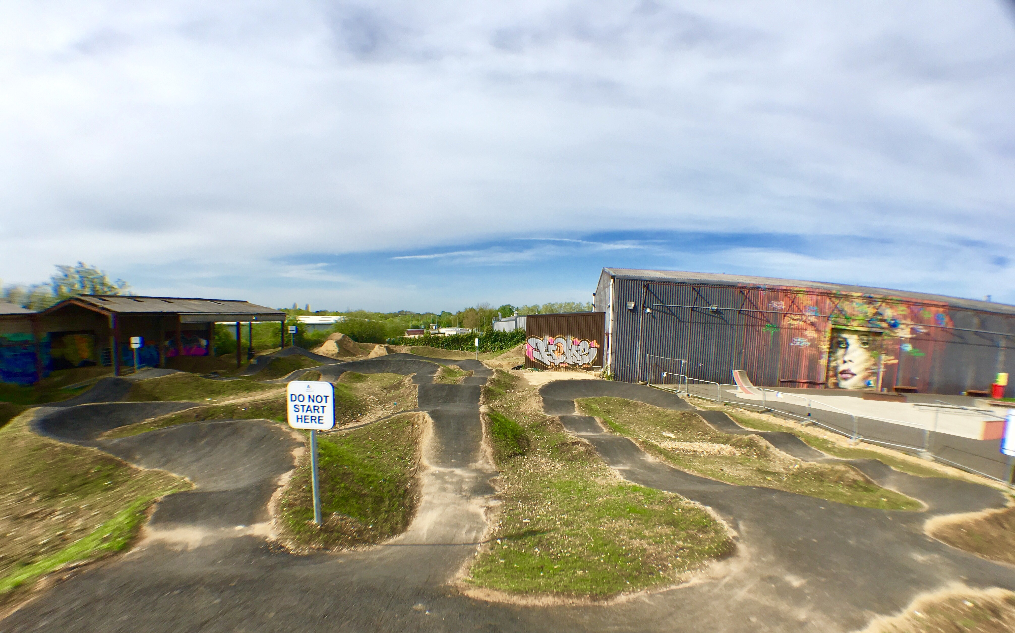 PUMP TRACK NOW OPEN